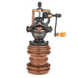 Wood river antique pepper mill for Pepper mill plans