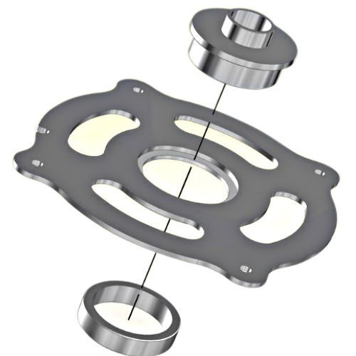 Incra cleansweep magnalock guide ring insert for porter cable incra cleansweep magnalock guide ring insert for porter cable style guide bushings cs mlrguide greentooth Image collections