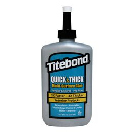 Titebond Quick & Thick Multi-Surface Glue 8oz (237ml)