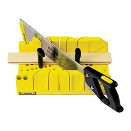 "Stanley 20-600 Clamping Mitre Box with 12"" Saw"
