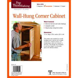 Wall-Hung Corner Cabinet Plan