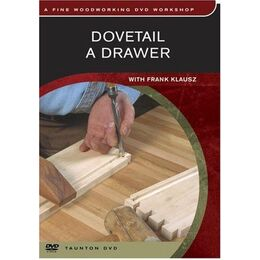 DVD - Dovetail a Drawer