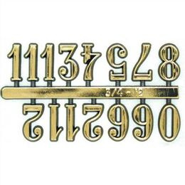 Set of 12 Arabic Numbers