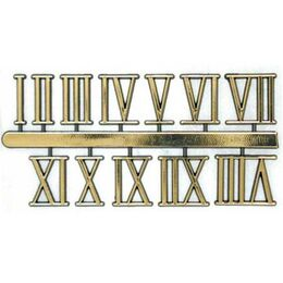 Set of 12 Roman Numerals