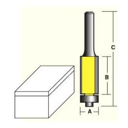 Econocut Flush Trim Router Bits