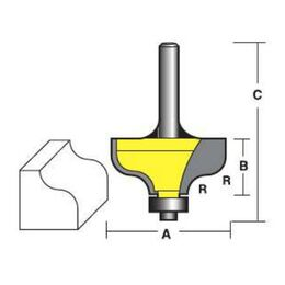 Econocut Ogee Router Bits