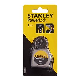 Stanley 0-39-055 PowerLock Keyring Tape Measure 1m