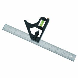 "Stanley 2-46-222 Rule Combo Square 12""/30mm"