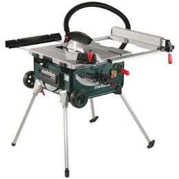 "Metabo TS 254 2000W 254mm (10"") Table Saw with Stand and Trolley"