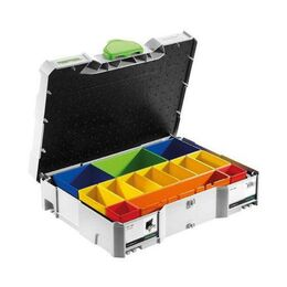 Festool Systainer SYS 1 T-Loc Assortment Storage Box (497694)