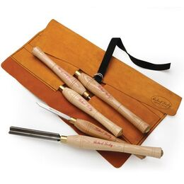Robert Sorby 5HS 5 Piece Beginners Set in Tool Roll