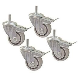 Kreg Dual Locking Caster Set (Set of 4) - 3""
