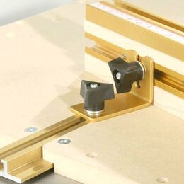 "INCRA BBRACKET1 Build-It Brackets with Knobs and Fasteners, 1 1/2"" x 2 1/4"" (set of 2)"