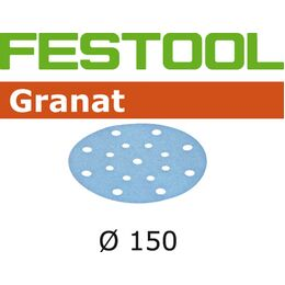 Festool Granat Abrasive Disc 150mm 16 Hole