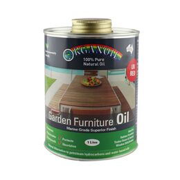 Organoil Garden Furniture Oil (Red)