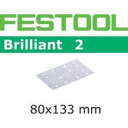 Festool 80 x 133mm Brilliant Abrasive Sheet