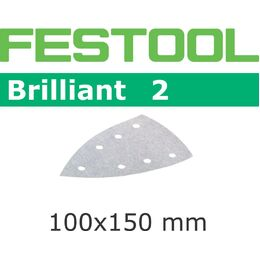 Festool 100mm DELTA Brilliant Abrasive Sheet