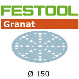 Festool 150 mm 48 Hole Granat Abrasive Disc