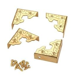 Highpoint T0521 Filigree Corners Brass