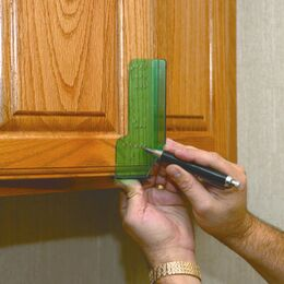 Highpoint Cabinet Door Knob & Pull Template