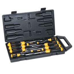 Stanley 65-005 Cushion Grip 10 Piece Screwdriver Set
