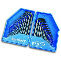 Kincrome HKW30 30 pce Hex Key Set