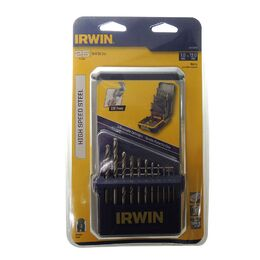 Irwin TBRT25M3 Drill Bit Set HSS Metric 1.0mm - 13.0 - 25 peices