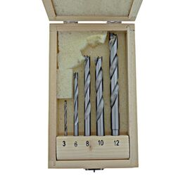 Carbitool TBP-5KIT Drill Bit Kit TCT - 3, 6, 8, 10, 12mm
