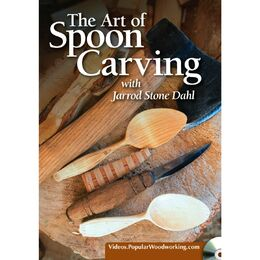 The Art of Spoon Carving with Jarrod Stone Dahl (DVD)