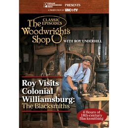 Roy Visits Colonial Williamsburg: The Blacksmiths (DVD)
