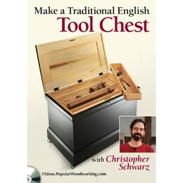 Make a Traditional English Tool Chest with Christopher Schwarz (DVD)