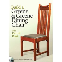 Build a Greene & Greene Dining Chair with Darrell Peart (DVD)