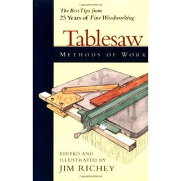 Methods of Work: Tablesaw