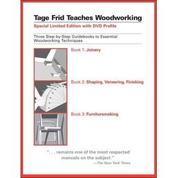 Slipcase Set: Tage Frid Teaches Woodworking