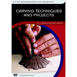 Carving Techniques and Projects - DVD