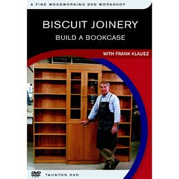 Biscuit Joinery: Build a Bookcase with Frank Klausz - DVD