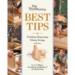 Best Tips on Finishing, Sharpening, Gluing, Storage and More
