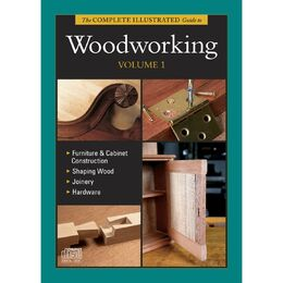 Complete Illustrated Guide to Woodworking Volume 1 - CD
