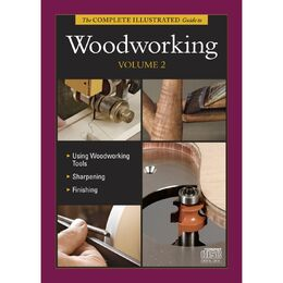 Complete Illustrated Guide to Woodworking Volume 2 - CD