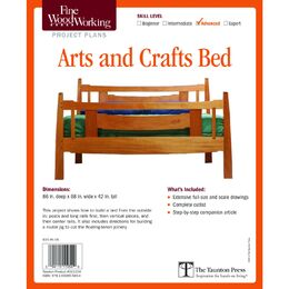 Arts and Crafts Bed Plan