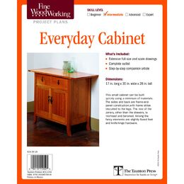 Everyday Cabinet Plan