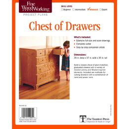 Chest of Drawers Plan