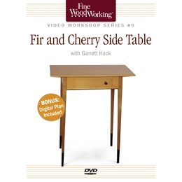 Fir and Cherry Side Table - DVD