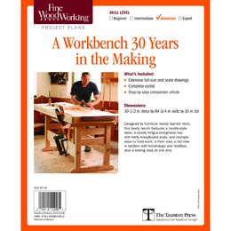 A Workbench 30 Years in the Making Plan