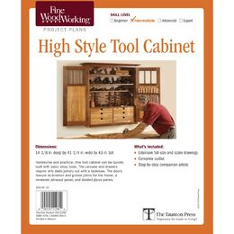 High Style Tool Cabinet Plan