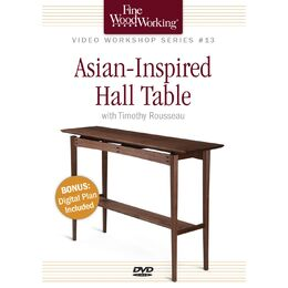 Asian-Inspired Hall Table - DVD