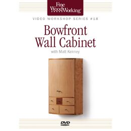 Bow-Front Wall Cabinet (DVD)