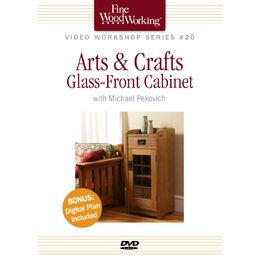 Arts & Crafts Glass-Front Cabinet - DVD