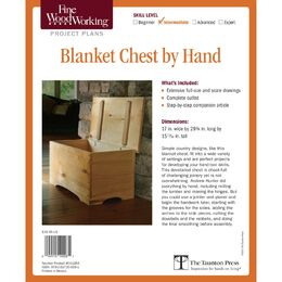 Blanket Chest by Hand Plan