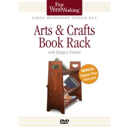 Arts & Crafts Book Rack (DVD)
